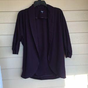 Plum colored blazer size small